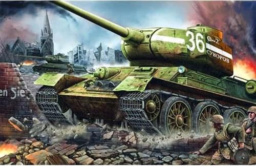 Танк  Т-34/85 мод.1944 г. завода №183 (1:16) - фото 36353