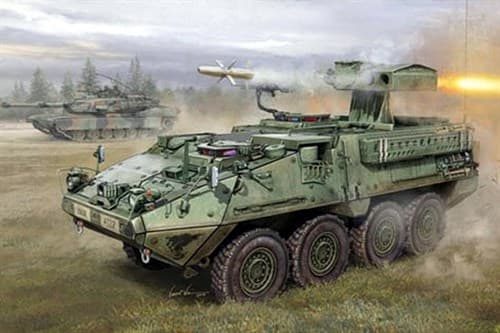 БТР  M1134 Stryker ATGM  (1:35) - фото 36354
