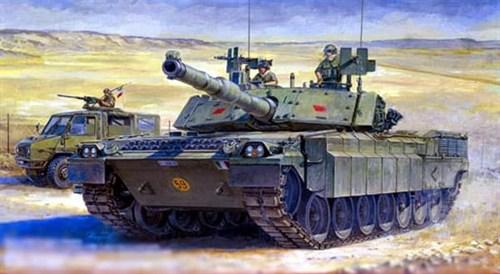 """Танк  С1 """"Ариете"""" (1:35) - фото 36358"""