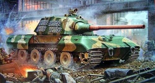 Танк Е-100 сверхтяжелый (1:35) - фото 36365