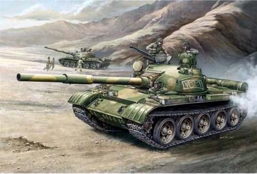 Танк  Т-62 обр. 1972 г. (1:35) - фото 36370