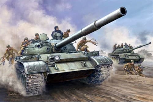 Танк  Т-62 обр. 1962 г. (1:35) - фото 36371