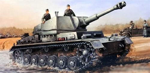 IV b для 105 мм. гаубицы (Sd.Kfz165/1) (1:35) - фото 36373