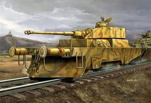 Противотанковый броневагон (1:35) - фото 36376