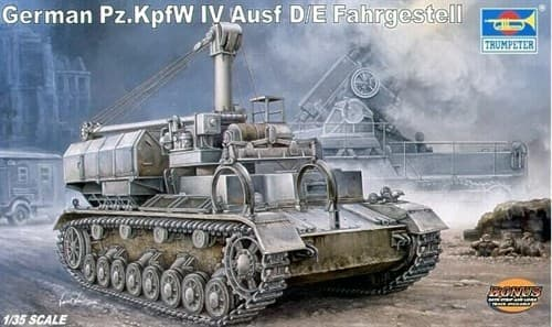 Транспортер Pz Kpfw IV Ausf D/E (1:35) - фото 36378
