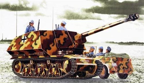 "САУ 75 мм. РАК-40/1 ""Мардер"" (1:35) - фото 36384"