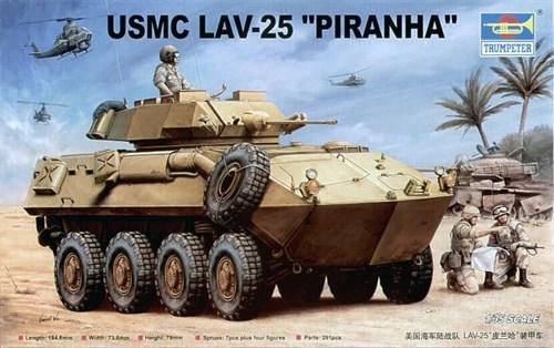 """БТР LAV-25 """"Пиранья"""" USMC (1:35) - фото 36389"""
