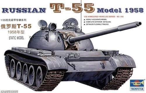 Танк  T-55 (1:35) - фото 36392