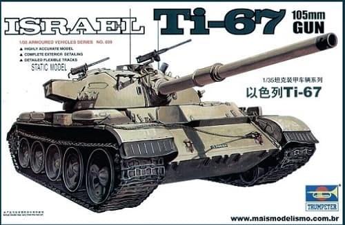 Танк  Ti-67 (1:35) - фото 36394