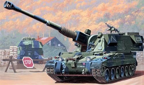 САУ 155 мм. AS-90 (1:35) - фото 36397