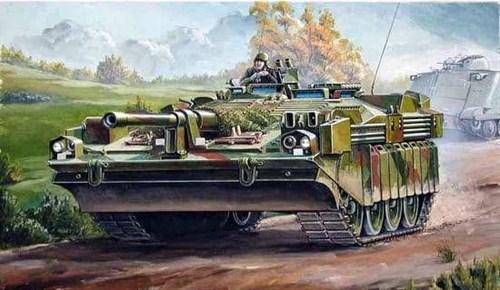 Танк  Strv 103C (1:35) - фото 36402