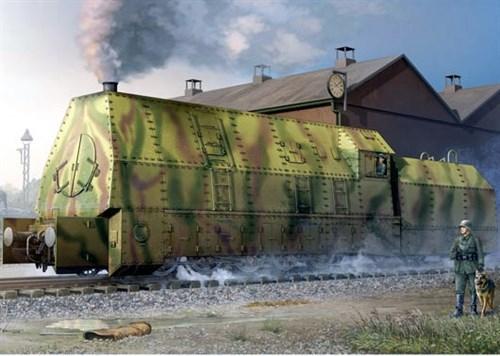 Германский бронированный паровоз BR57 (1:35) - фото 36409