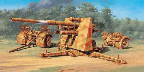 Пушка  8.8 Cm. FLAK 37 AA Gun (1:48) - фото 36431
