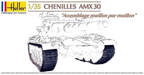 Траки  CHENILLES AMX 30 (1:35) - фото 36433