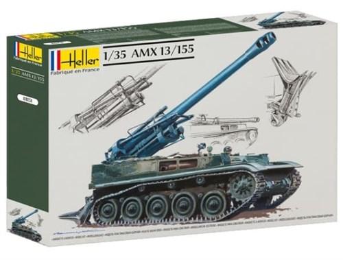 Танк  AMX 13/155 (1:35) - фото 36434