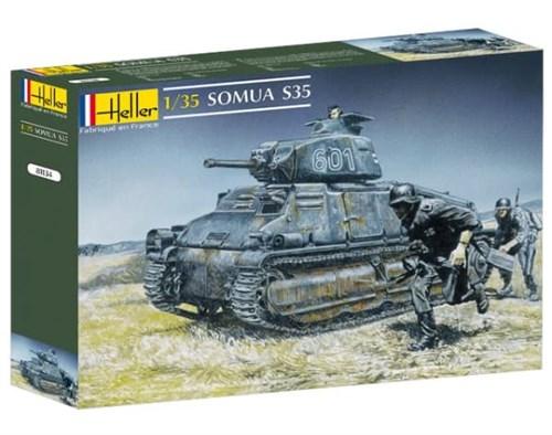 Танк  Сомуа S-35 (1:35) - фото 36438