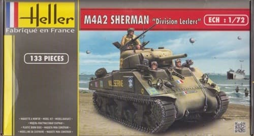 "Танк M4A2 SHERMAN ""DIVISION LECLERC""  (1:72) - фото 36445"