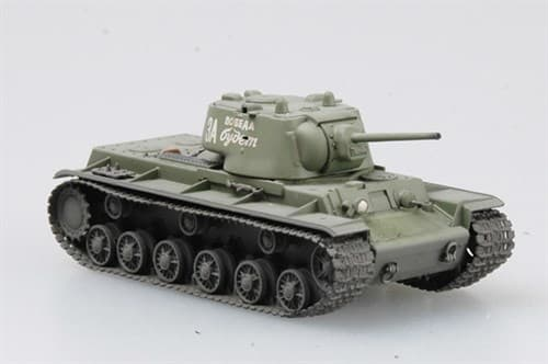 Танк  КВ-1, 1942г. (1:72) - фото 36448