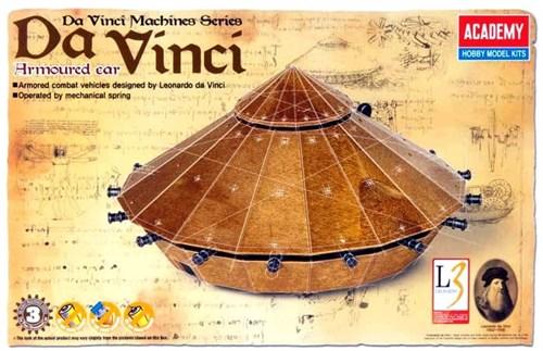 Танк  Леонардо да Винчи - фото 36456