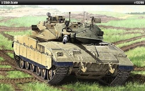 Танк  MERKAVA Mk.IID (1:35) - фото 36464
