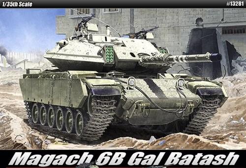 Танк  Magach 6b Gal Batash  (1:35) - фото 36465