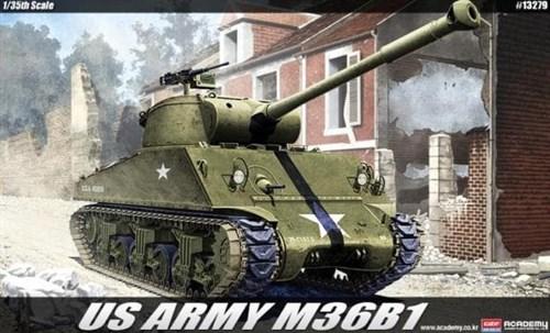 САУ  U.S. ARMY M36B1 (1:35) - фото 36467