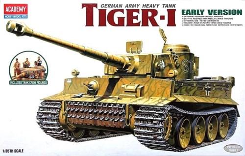 Танк  Pz.Kpfw.VI Tiger I ранний (1:35) - фото 36474