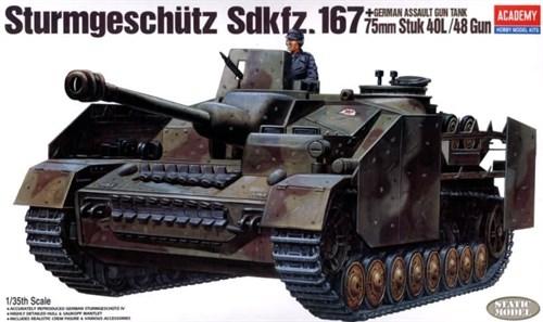 САУ  StuG IV (1:35) - фото 36477