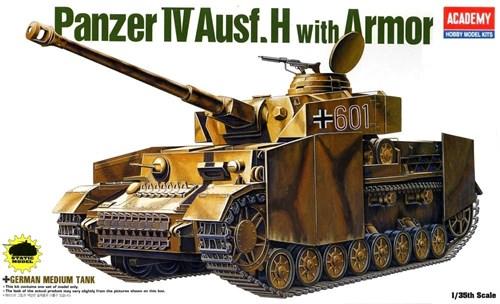 Танк  GERMAN PANZER IV H W/ARMOR (1:35) - фото 36479