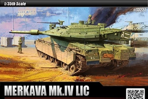 "Танк ""Меркава"" Mk.IV LIC (1:35) - фото 36481"