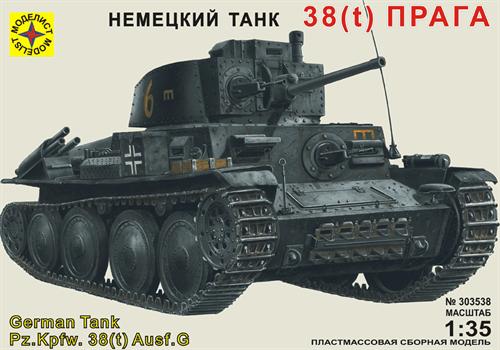 "Танк 38(t) ""Прага"" (1:35) - фото 36500"