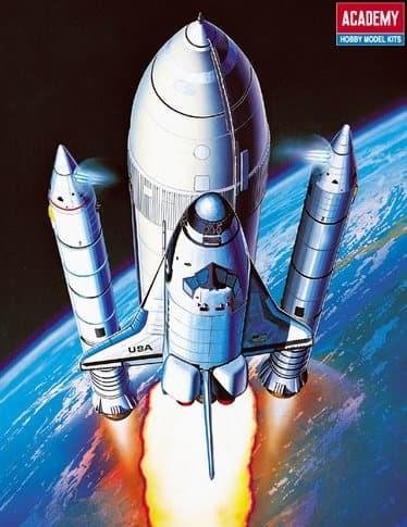 Космический корабль  Shuttle & Booster Rocket (1:288) - фото 36542