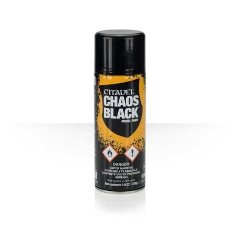 Chaos Black Spray - фото 36654