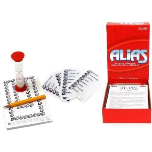 Компактная игра: ALIAS (Скажи иначе) - фото 36730
