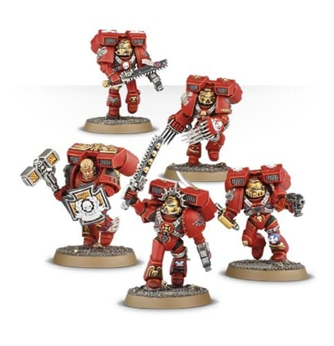 Blood Angels Vanguard Veteran Squad - фото 36763