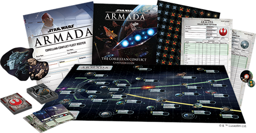 STAR WARS: ARMADA - THE CORELLIAN CONFLICT CAMPAIGN EXPANSION PACK - EN
