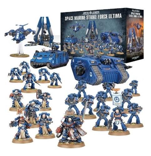 Купите набор Space Marine Strike Force Ultima для Warhammer 40000 Вархаммер 40K в Лавке Орка