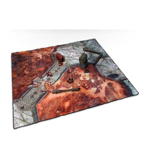 Warhammer 40000 Battle Mat: City Ruin - фото 37389