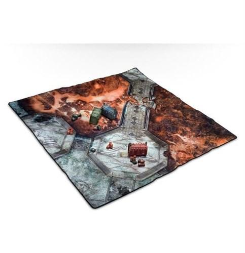Игровое поле для игры Warhammer 40,000 Battle Mat Starter Set купите в Лавке Орка