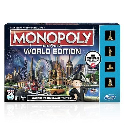 HASBRO (РУС): Монополия Всемирное издание - фото 37586