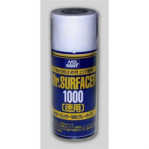 Краска-грунтовка в баллончиках Mr.SURFACER 1000 DELUXE 170мл
