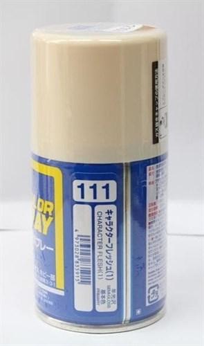 (!) Краска в баллончиках т.м. MR.HOBBY 100мл  CHARACTER FLESH (1) - фото 38765