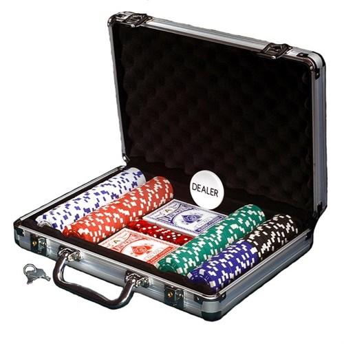 """""""Empire 200"""", набор для игры в покер, 200 фишек по 11,5 грамм. - фото 39337"""