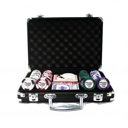 """""""WPT 200"""", набор для игры в покер, 200 фишек по 14гр. - фото 39341"""