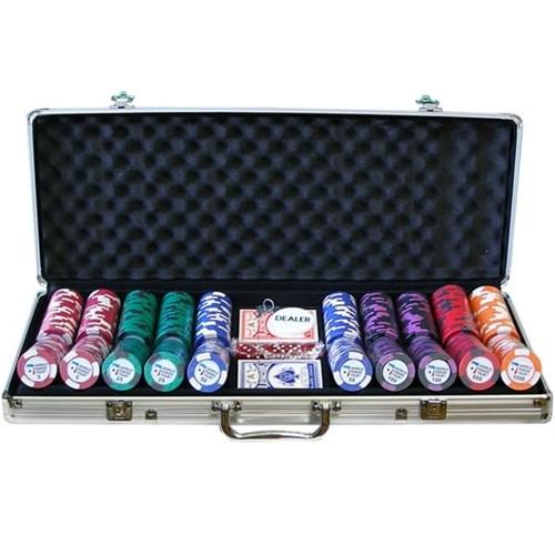 """""""WPT 500"""", набор для игры в покер, 500 фишек по 14 грамм. - фото 39360"""