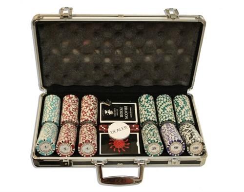 """""""Nightman300""""Профессиональный набор для игры в покер.300 фишек по 14грамм. - фото 39368"""