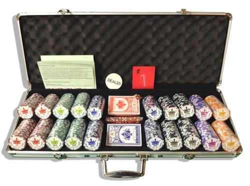 """""""Empire 500"""", набор для игры в покер, 500 фишек по 11,5 грамм. - фото 39370"""