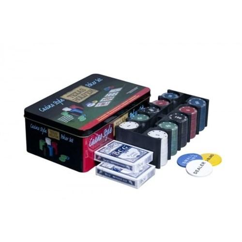 """Holdem Lite 4gr"" набор для покера 200 фишек по 4гр. - фото 39375"