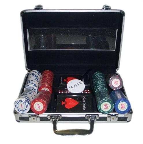 """""""Casino Royal 200"""", Премиум набор для игры в покер. - фото 39378"""