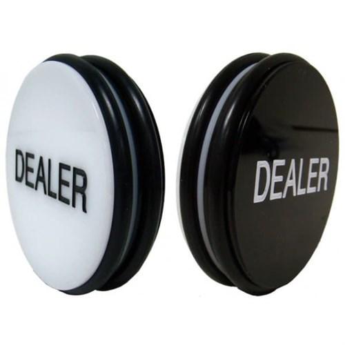"Dealer 3"" Deluxe, Кнопка Дилера, диаметр 7,5см, толщина 4см. - фото 39477"